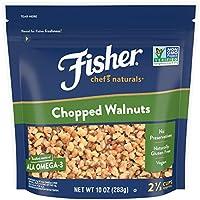 FISHER Chef's Naturals 切碎核桃, 无防腐剂,10盎司(283克)