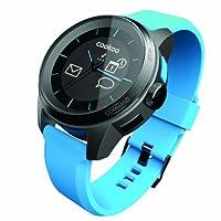 Cookoo watch 蓝牙智能手表 蓝牙4.0 潮流时尚 来电邮件提醒 防水 遥控拍照 防丢防盗(蓝色)