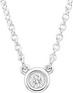 TIFFANY 蒂芙尼 鉆石 0.07克拉 925銀 Elsa Peretti系列 diamond by the yard 吊墜項鏈 27465846