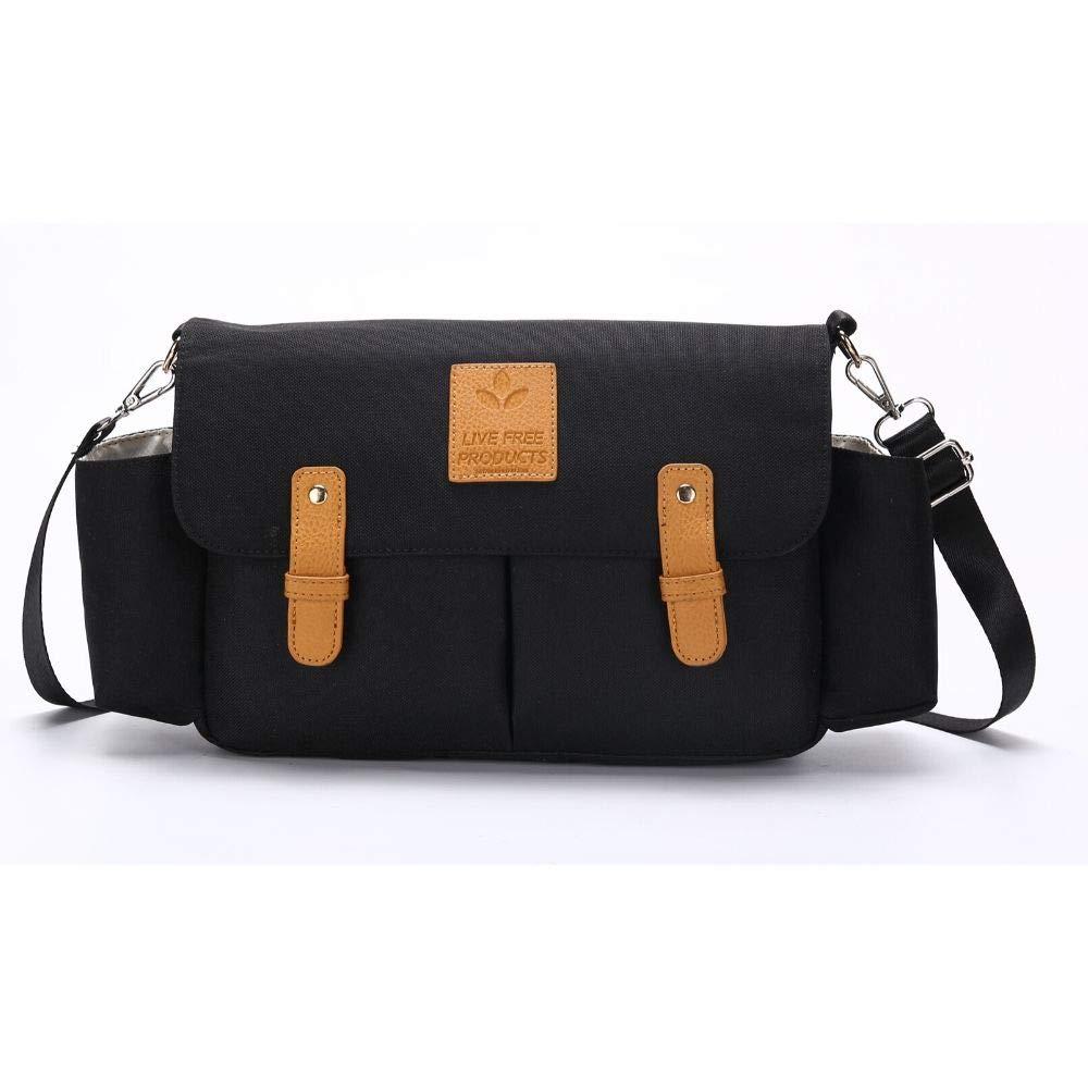 ファッション尿一般的なバッグやトロリーポーチ絶縁カップホルダー付き、調整可能なショルダーストラップ、大容量の収納スペース、携帯電話、財布やおむつのために使用することができます