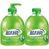 蓝月亮芦荟洗手液500g+芦荟洗手液补充瓶装500g(特)
