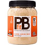 PBfit All-Natural Peanut Butter Powder, 850g Peanut Butter Powder from Real Roasted Pressed Peanuts, High in Protein, Natural Ingredients