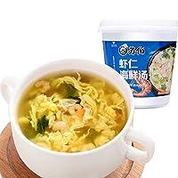 SUBO 苏伯 虾仁海鲜汤12g动车杯宇航冻干技术即食汤 食品方便速食代餐