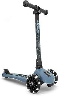 Scoot & Ride Highwaykick 3 儿童宽板立式滑板车带 LED 轮