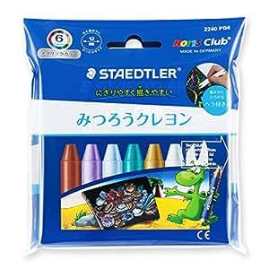 STAEDTLER NOLISKURAE 蜜蜡笔 金属色 6色セット 6色套装