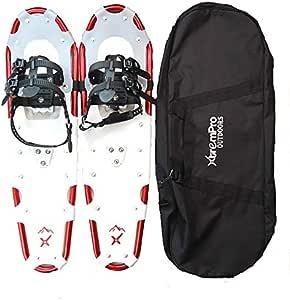 Xtrempro 雪地鞋 雪地地 轻质人体工程学设计 轻质铝合金 13 点式防滑钉 120/160/210/300 磅。 容量 - 53.34 厘米/63.50 厘米/76.20 厘米/91.44 厘米