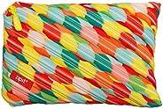 Zipit Colorz Jumbo Pouch, (ZTJ-CZ-Stri)