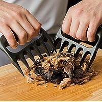 Rumiday 熊爪撕肉分肉器 烧烤食品水果肉叉 肉食防烫分割器 肉爪分离器 撕肉器 (2只装)