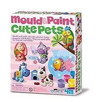 4M 石膏彩模系列 創意美術手工DIY玩具 可愛寵物