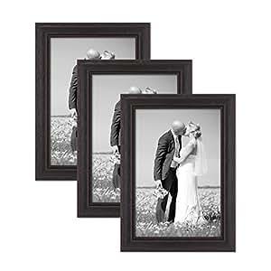 photolini 3件套相框, country-house 风格,实木,包括配件/怀旧风格