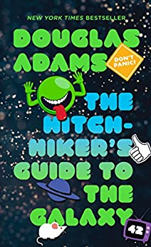 """""""The Hitchhiker's Guide to the Galaxy (English Edition)"""",作者:[Douglas Adams]"""