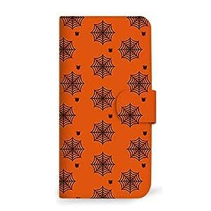 MITAS 智能手机保护壳翻盖型万圣节 Halloween 图案  A 1_iPhoneSE (iPhoneSE)