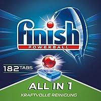 Finish 亮碟 洗碗机洗涤剂 3个月装 182块装