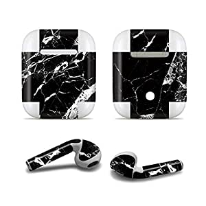 Masino 创意蓝牙耳机保护贴纸全保护膜皮肤贴纸贴膜 适用于 Apple AirPods 耳机(2016 年发布) for Apple AirPods