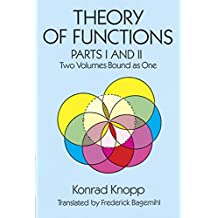 Theory of Functions, Parts I and II (Dover Books on Mathematics) (English Edition)