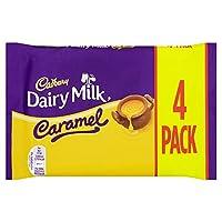 Cadbury Dairy Milk Caramel 4 Chocolate Bar (Pack of 15)