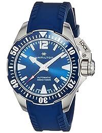 [HAMILTON]HAMILTON 手表 卡其色 *蓝 鱼嘴 水钻 H77705345 男士 【正规进口商品】