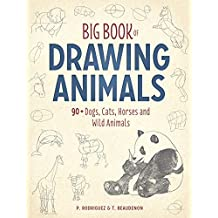Big Book of Drawing Animals: 90+ Dogs, Cats, Horses and Wild Animals (English Edition)