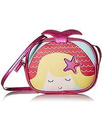 Stella & Max 女童美人鱼动物纹儿童斜挎包,均码