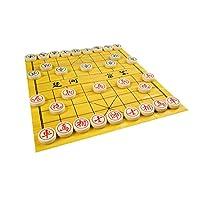 Quantum Abacus Premium Xiangqi:专业级,中国国际象棋/广岛,密胺树脂制成,M 号:直径 1.6 英寸/4 厘米,2.6 磅/1.2 千克,型号。 CL-158 有线接口/性别适配器