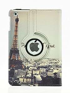 LiViTech(TM) 巴黎之夜设计系列 360 度旋转 PU 皮革保护套适用于苹果 iPad Mini 1、Mini 2 和 Mini 35749295 8.5 x 6.8 x 1.1 inches