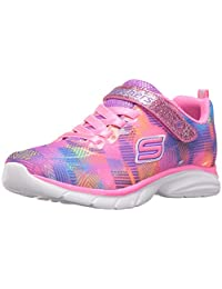 Skechers 儿童女孩 Spirit sprintz-rainbow RaZ 运动鞋