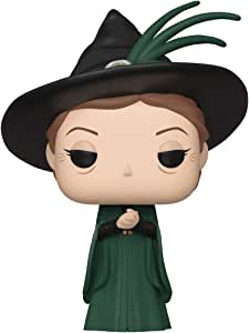 Funko POP! 哈利波特:Minerva McGonagall(瑜伽球) Not appropriate for children under the age of 3 Harry Potter-Minerva McGonagall (Yule) Collectible Figure basic 多种颜色