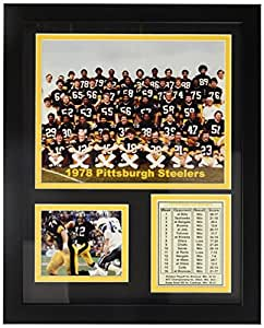 Legends Never Die 1978 Pittsburgh Steelers Framed Photo Collage, 11x14-Inch