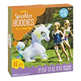 Toysmith 洒水器 Buddies Mist-Ical Unicorn 充气户外洒水器