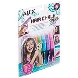 Hair Chalk Pens 5/Pkg-Assorted Colors