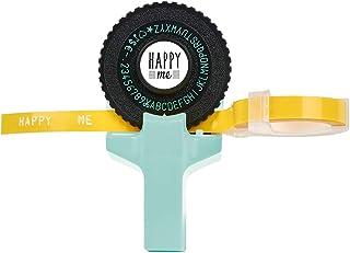 Happy me Label Maker | Happy me 设计的标签压印机 | 带2个粉红色和黄色
