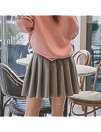 百褶裙中裙秋冬女新款韩版百搭班服冬天裙子女半身裙
