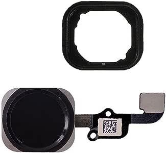 FirefixTM 适用于 iPhone 6S 和 6S Plus Home 按钮,带弯曲电缆和触摸 ID 传感器组件 黑色