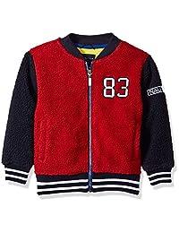 Nautica 男童棒球飞行员夏尔巴羊毛夹克