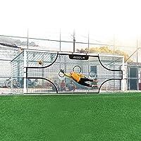 AKOZLIN 足球球网目标板附着您的终极精准训练*伙伴目标上