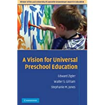 A Vision for Universal Preschool Education (English Edition)