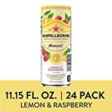 Sanpellegrino Momenti Lemon & Red Raspberry Cans, 24 Count
