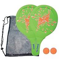 schildkröt FUN 运动氯丁橡胶海滩球套装970219绿色 / 橙色