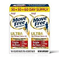 Schiff Move Free Altra 維骨力軟骨精華素骨膠原60片(2盒裝,每盒30片)