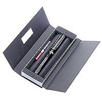 LAMY 凌美 safari狩猎者标准F尖墨水笔(钢笔)亮黑色-E107礼盒包装(标配吸墨器)