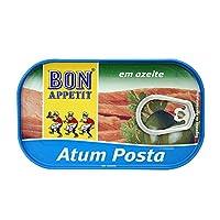 BonAppetit 棒滋味 橄榄油浸金枪鱼罐头120g(葡萄牙进口)