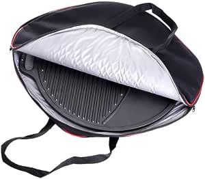 paella 世界国际烧烤配件保护套适用于铸铁烤盘黑色1件