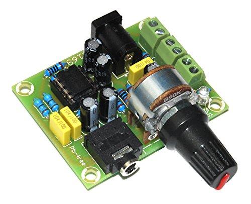 ArliKits AR169M 立体声放大器适用于耳机 带 TDA2822 模块 2 通道 绿色
