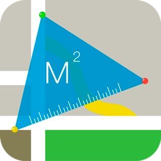 GPS地图测量尺