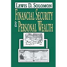 Financial Security and Personal Wealth (English Edition)