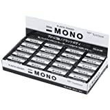 TOMBOW 铅笔 橡皮擦 MONO PE01 ブラック60サイズ40個 モノブラック PE01 40個
