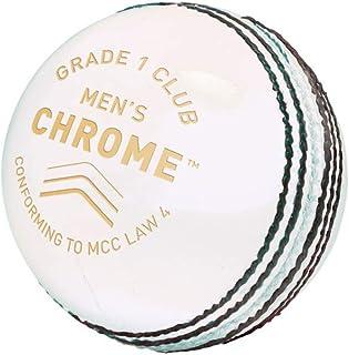 Gunn & Moore GM 板球铬皮球,1 级 - 白色