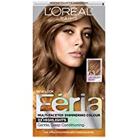 L'Oreal Paris Feria Multi-Faceted Shimmering Colour, Midnight Collection 1 Application
