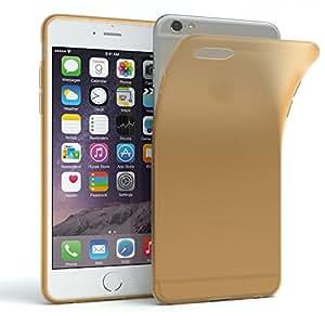 iPhone 6 手机壳 - EAZY 手机壳高级保护壳适用于苹果 iPhone 6S/6(MATT 系列)硅胶缓冲垫,减震硬壳 - 各种颜色的纤薄手机壳40822 Gold - Matt