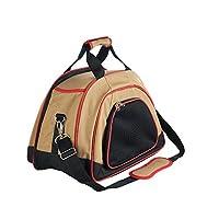 Hunter Ohio 手提袋,适用于狗狗和猫咪 beige / rot 45 x 28 x 31 cm